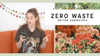 Zero Waste Period Products & My Favorite Low Waste Buys from Bring Your Own Long Beach | Alli Cherry
