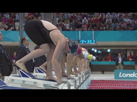 Allison Schmitt Sets New Olympic Record & Wins 200m Freestyle Gold - London 2012 Olympics