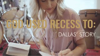 RECESS Released || God Used RECESS To _____: Dallas' story