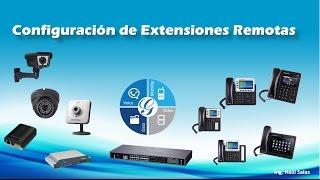 Guía de Configuración de Extensiones Remotas