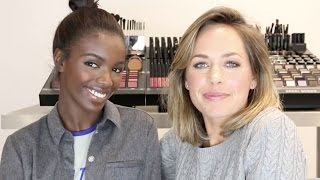Quick and Easy Makeup with Leomie Anderson