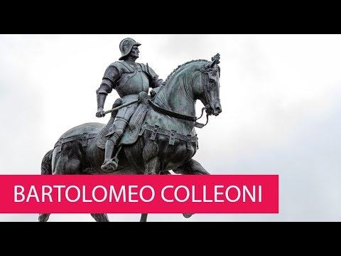 BARTOLOMEO COLLEONI - ITALY, VENICE