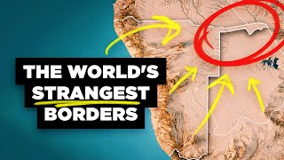 The World's Strangest Borders Part 1: Panhandles