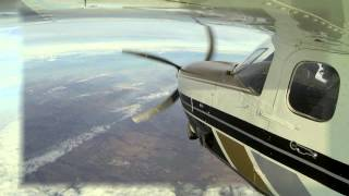 Approaching Lugano with Cessna SE Turbine