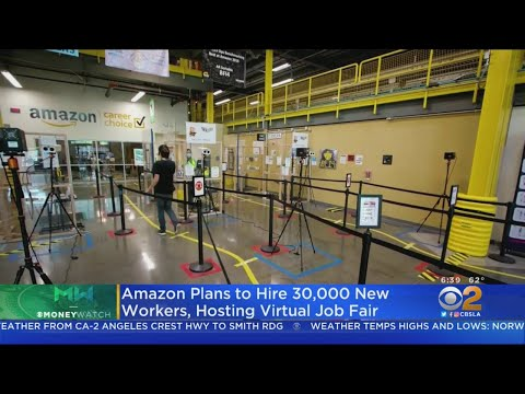 Amazon Staging Huge Virtual Job Fair To Hire 30K Workers