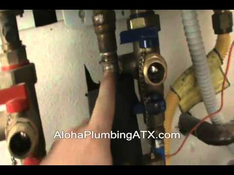 How To Descale A Navien Tankless Water Heater Youtube