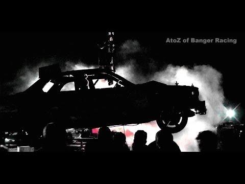 Unlimited Banger World Championship 2013   Full Race