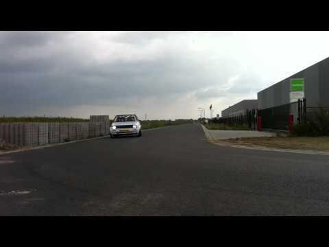 VW Golf mk2 trackday car TFSI DSG QUAIFE testrun
