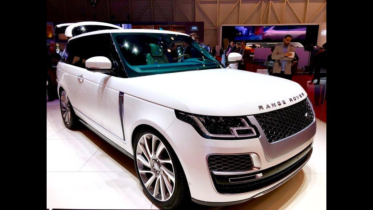 range rover vogue sv coupe limited geneva motor show 2018 youtube. Black Bedroom Furniture Sets. Home Design Ideas
