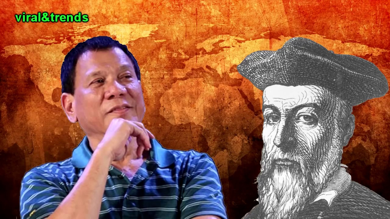 Shocking! Nostradamus Predicted Duterte's Presidency