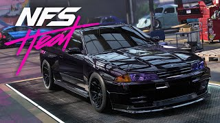 NISSAN R32 BUILD - NEED FOR SPEED HEAT Gameplay Walkthrough Part 33 - FIXING MY MISTAKES