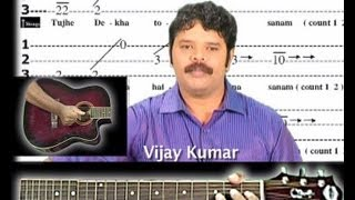 Churaliya hai tum ne jo dil ko song on guitar tabs 1