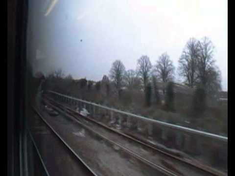 Reading To Guildford Part 1, Onboard 1O72, FGW 166205 (18th February 2011)