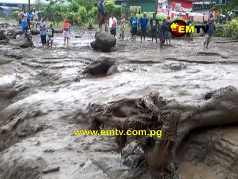 70 Homes Washed Away, More Than 80 Families Homeless Following Torrential Rains in East New Britain