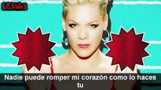 Pink ft Lily Allen True Love Video Subtitulado