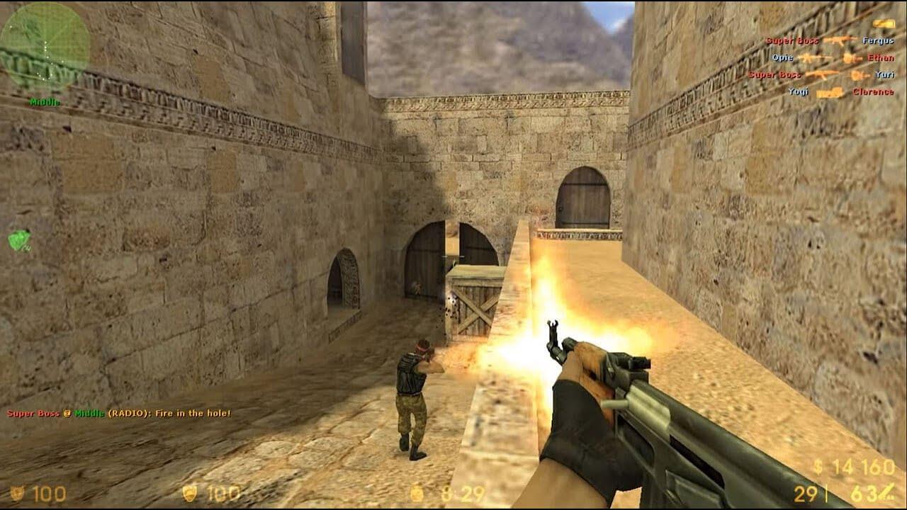لعبة counter strike source بحجم صغير