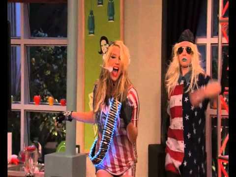 Ke$ha SINGS for US! - Victoriousmx