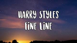 Cover images Harry Styles- Fine Line Lyrics