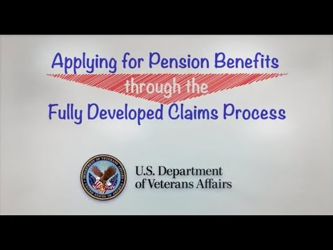 Overview Of Va Form 21 527ez Application For Pension Part 2 Youtube