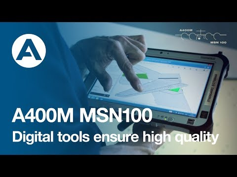 How to build an A400M: Digital tools ensure high quality