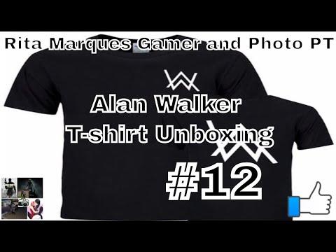  Alan Walker - T Shirt Unboxing#12 (Compra Aliexpress)
