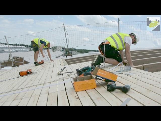 Stationsbogen krijgen houten dak
