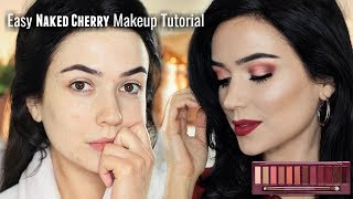 Soft Day Makeup Tutorial | Urban Decay Cherry Eyeshadow Palette