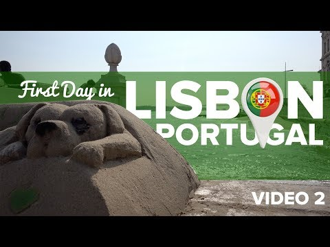 First Day in Lisbon, Portugal! (Video 2 from my 1st Trip to Europe)