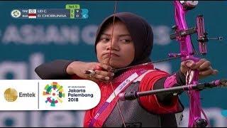Download lagu Highlight TPE vs INA - Panahan: Choirunisa Diananda Lolos ke Final | Asian Games 2018