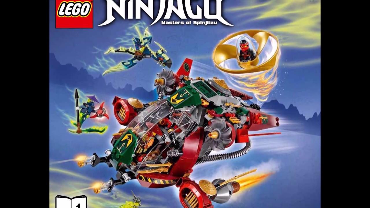 LEGO Ninjago 70735 Ronin R.E.X. Ninja Instructions Book DIY 1 - YouTube
