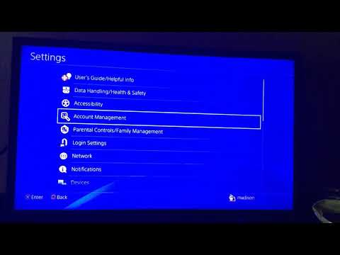 How to delete a ps4 account! ( I tried to do a create but nope)