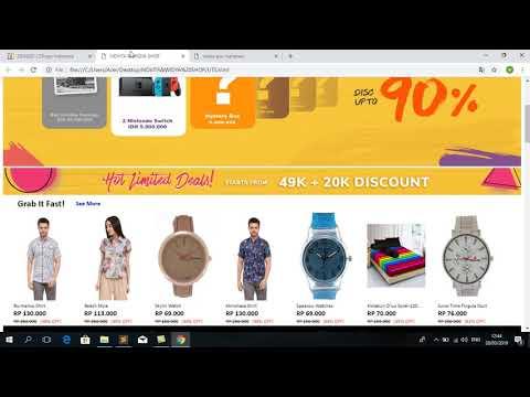 cara-membuat-web-online-shop-menggunkan-html