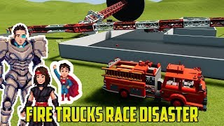 Cars for Kids | FIRETRUCKS. RACECARS. MONSTER TRUCKS. BRICK RIGS CRAZINESS
