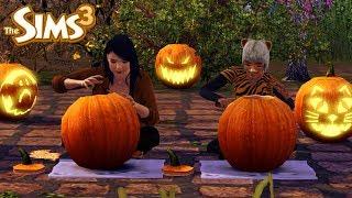 The Sims 3 I Wyzwanie Farmera #19 - Dzień straszenia