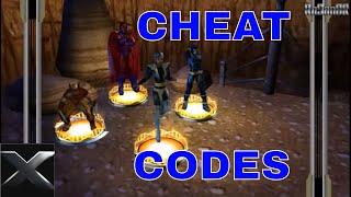 X-Men Legends 2 (PSP) CHEAT CODES