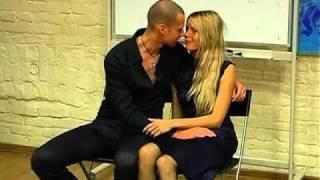 Как соблазнить девушку поцелуем.flv