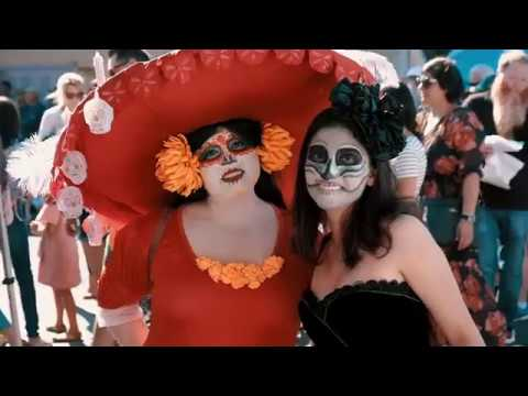 2018 Day Of The Dead Festival—North Park Hosted By Artelexia