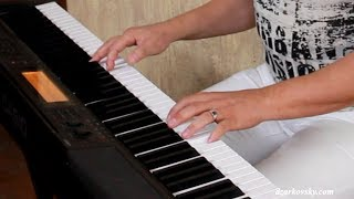 Работы учеников - Р. Ногайцев - Беспечный ангел - Уроки фортепиано скайп онлайн