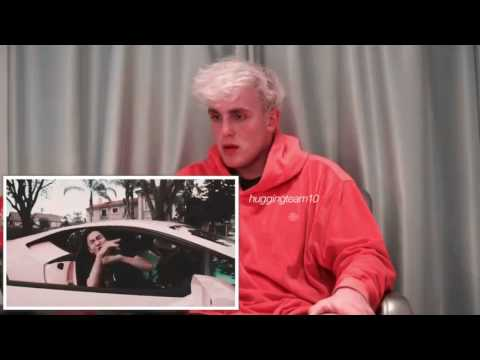 Jake Paul Reacts To