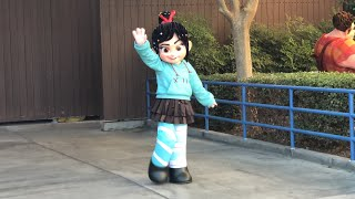 Vanellope Teases Wreck-It Ralph Meet and Greet DCA Disneyland Resort 2018 First Appearance