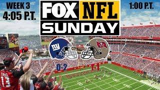 2019 NFL Season - Week 3 - (Prediction) - Giants at Buccaneers