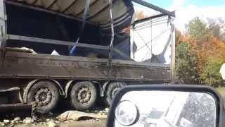 Авария под Иглино на трассе м-5
