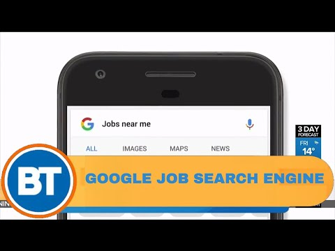 Google announces their own job search engine