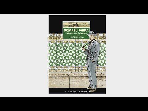 Presentació del còmic Pompeu Fabra. L'aventura de la llengua