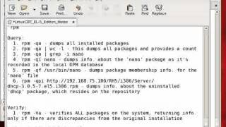 Redhat Enterprise linux 5 RPM Package Management-Part2