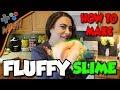 DIY FLUFFY SLIME ??Easy HOW TO make slime tutorial!