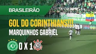 GOL (MARQUINHOS GABRIEL - CHAPECOENSE X CORINTHIANS - 12/08 - BRASILEIRÃO 2018