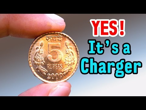 Thumbnail: Charge Your Phone using COIN - Amazing Life Hack - Science Experiment
