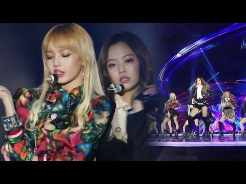 BLACKPINK Sexy 'WHISTLE + PLAYING WITH FIRE' Stages @2016 SAF Gayo Daejun EP