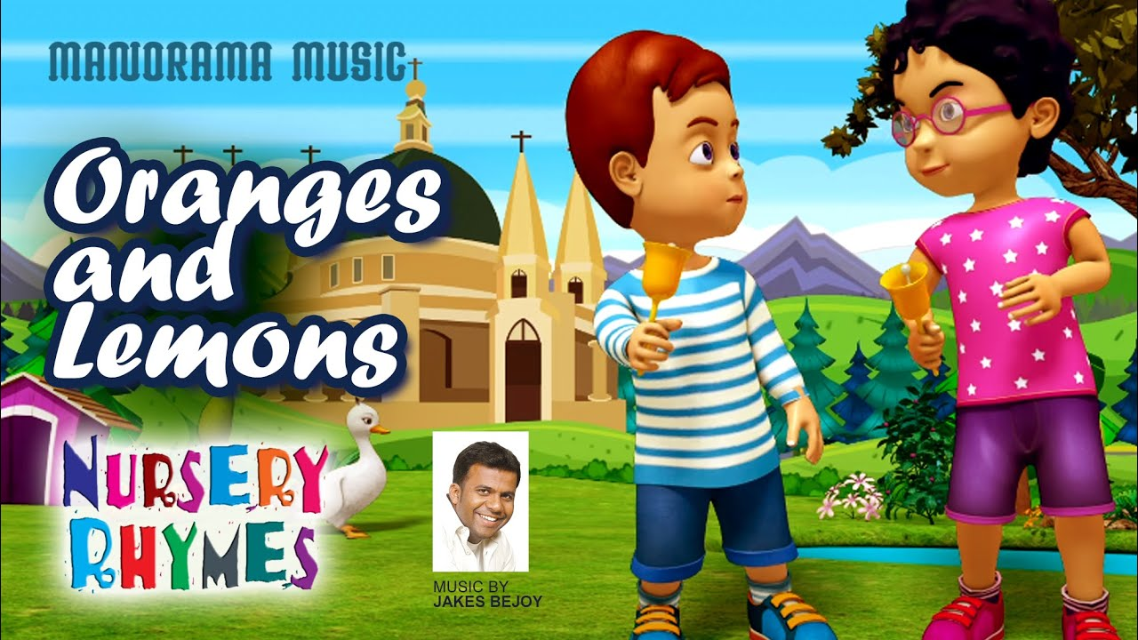 Oranges and Lemons | English Nursery Rhymes | Jakes Bejoy | Children Rhymes
